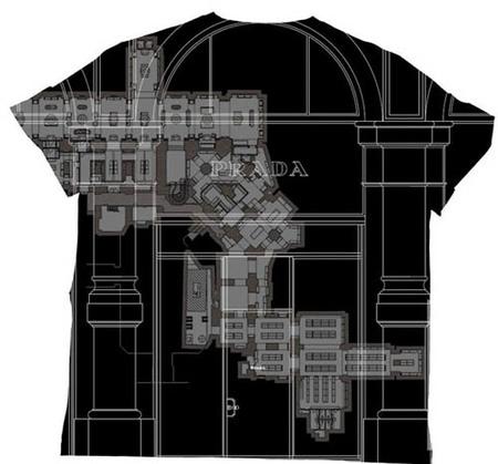 Prada homenajea a sus Epicentre Stores con una camiseta