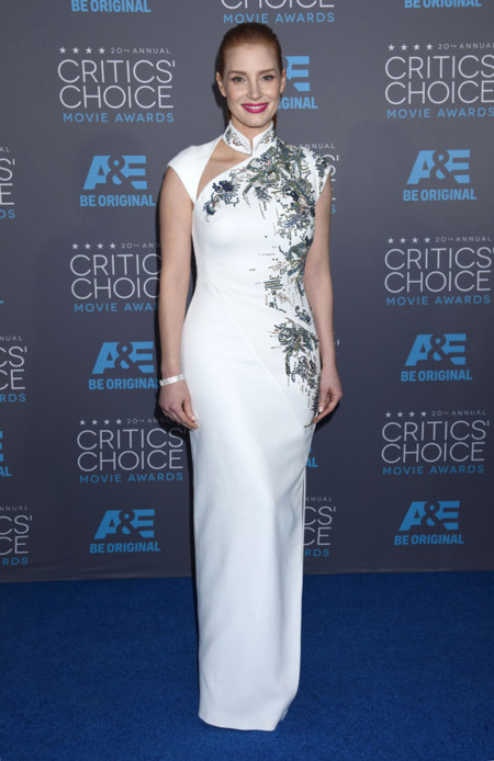 Jessica Chastain Critics Choice Movie Awards 2015