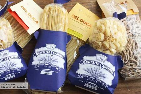 Fin de semana en Italia. Visita a dos fábricas de pasta