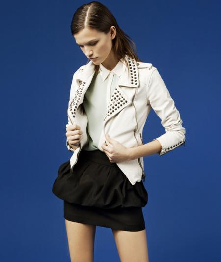 Zara cuero lookbook febrero