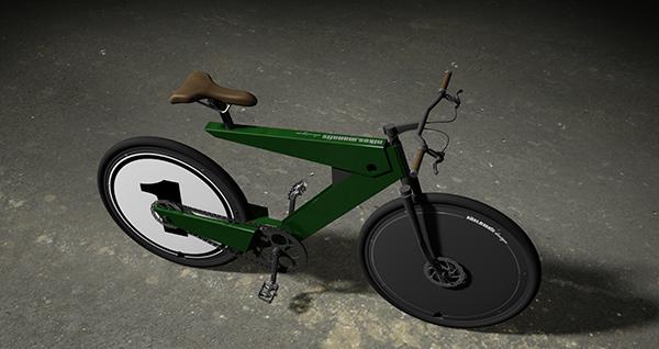 Foto de Bicicleta Eléctrica Nikos Manafis (9/11)