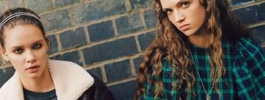 Bershka trae su colección más grunge para aquellas que nacieron en los 90