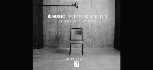 Burberry 17 Years Of Soundtrack