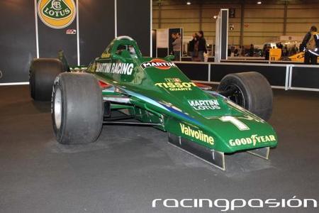 Motor Show Festival 2010. Exposición Lotus F1 Team