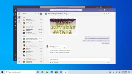 Microsoft Teams Computadora
