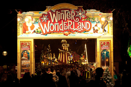 Winter Wonderland De Londres Reino Unido