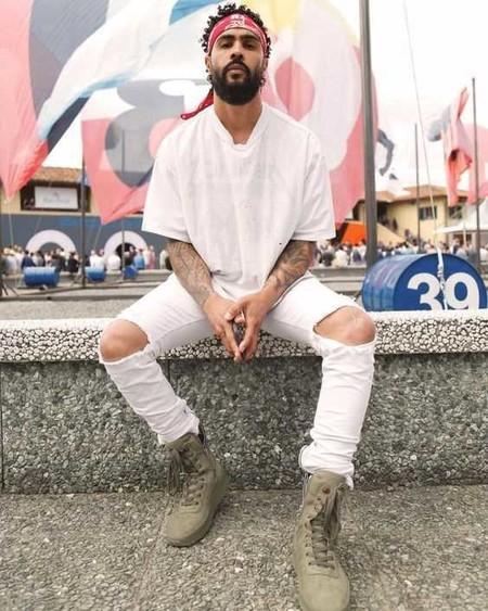 Panuelo Bandana Trendencias Hombre Street Style De La Semana 11