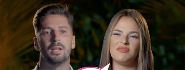 Estreno de 'La Última Tentación': Lester y Marta Peñate se reencuentran a reprochazos y diarreicos de furia en la primera hoguera de la edición
