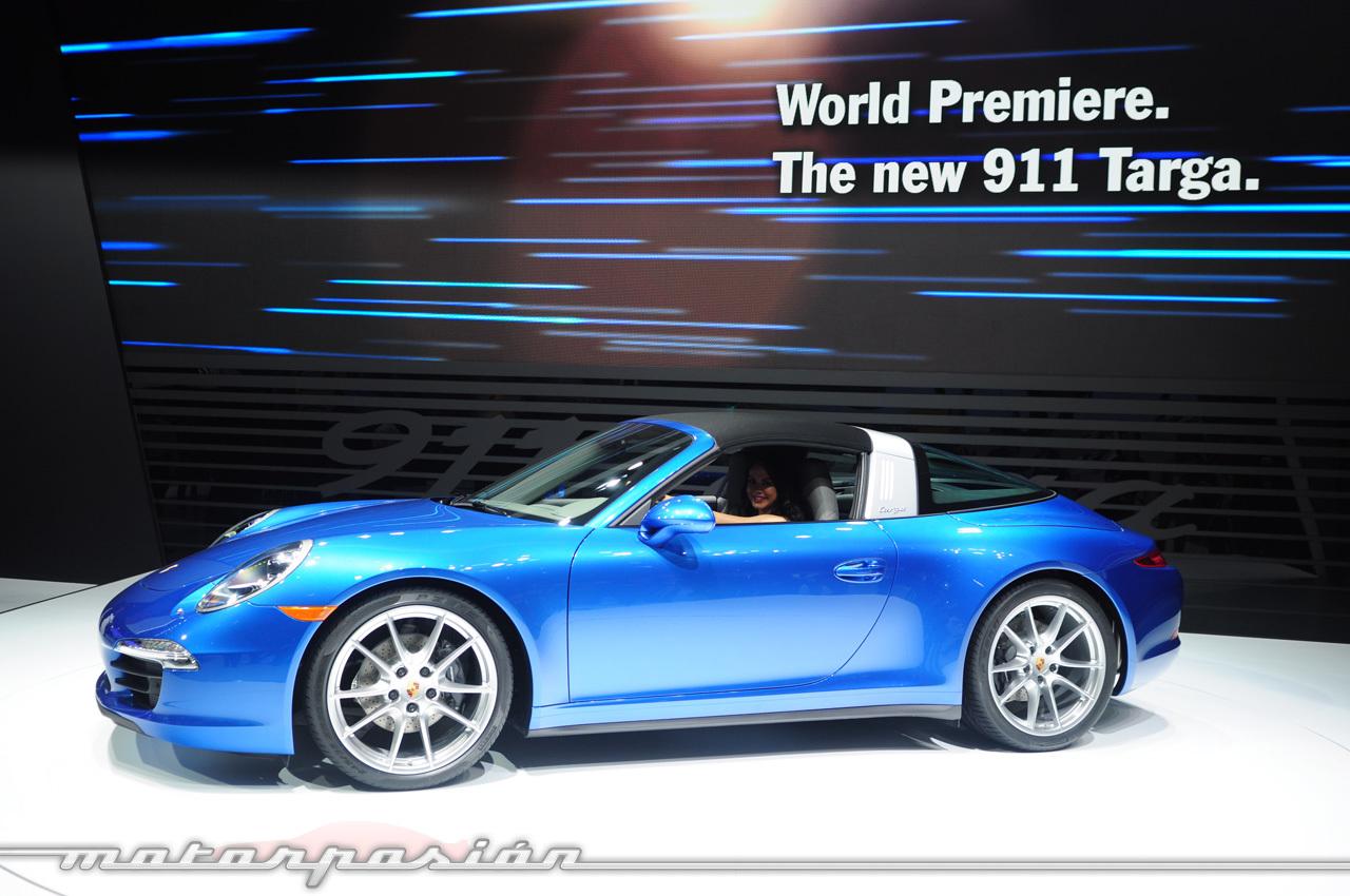 Foto de Porsche 911 Targa 991 (Salón de Detroit) (4/5)