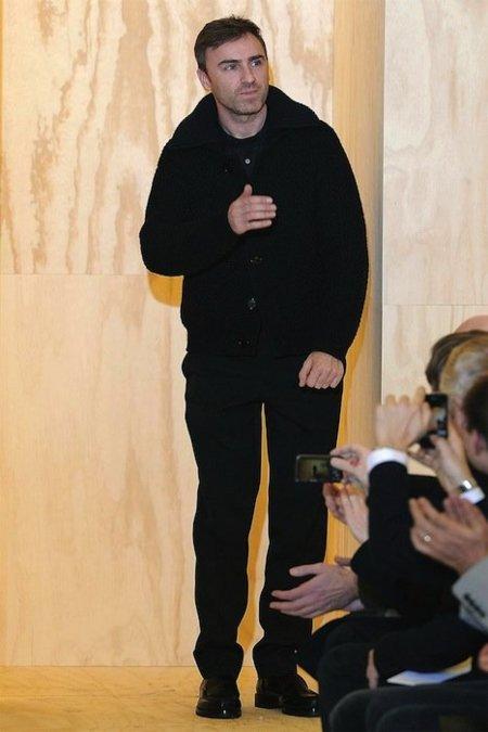 Rumore, rumore, rumore... Raf Simons para Dior