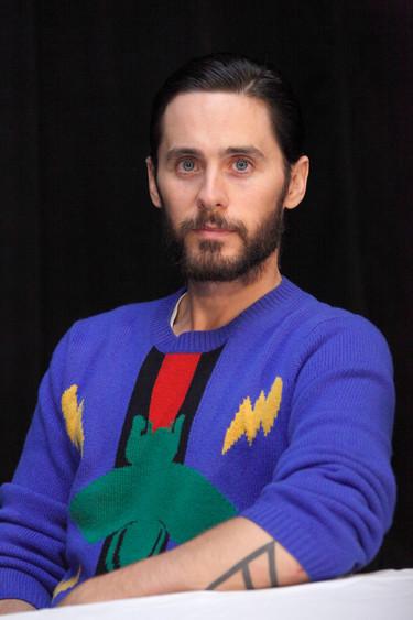 """Para la gira de promoción de su nueva película """"Suicide Squad"""" Jared Leto sólo se viste de Gucci"""