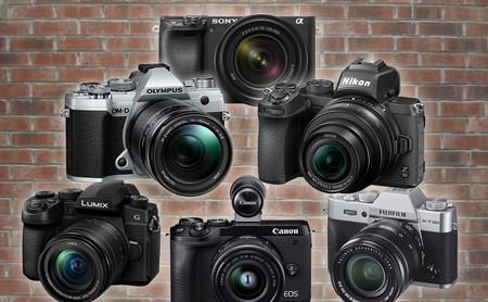 Así de interesante está el segmento intermedio de cámaras sin espejo con sensor recortado (APS-C y Micro Cuatro Tercios)