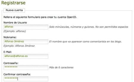 OpenIDregistro
