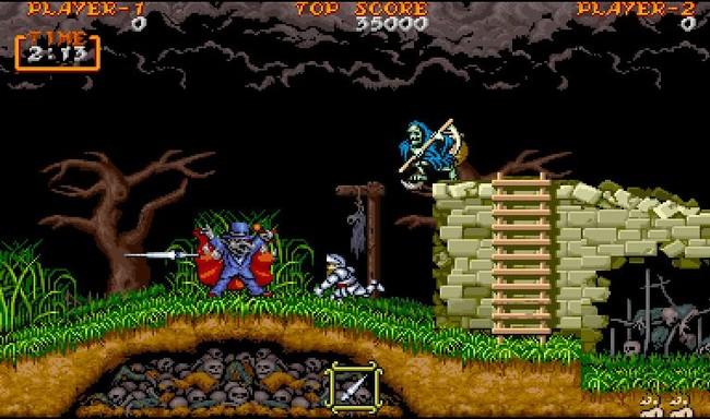Capcom traerá los clásicos Ghosts N Goblins, Ghouls N Ghosts, Commando y 1942 a Android