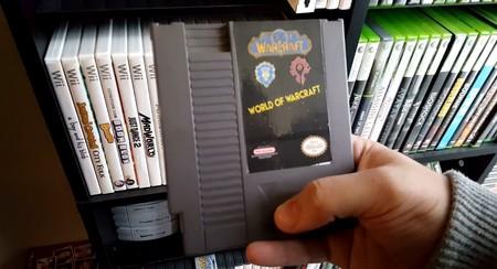 ¿Cómo sería World of Warcraft si se tratase de un juego de NES?