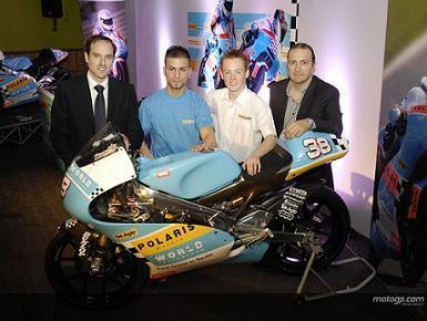 Presentación del equipo Polaris World