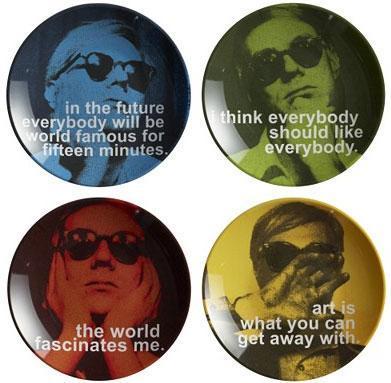 Platos de Andy Warhol
