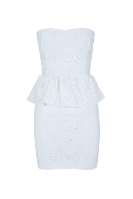 Vestido Blanco otoño 2012