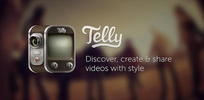 Telly, servicio para compartir vídeos con la posibilidad de añadir filtros al estilo Instagram
