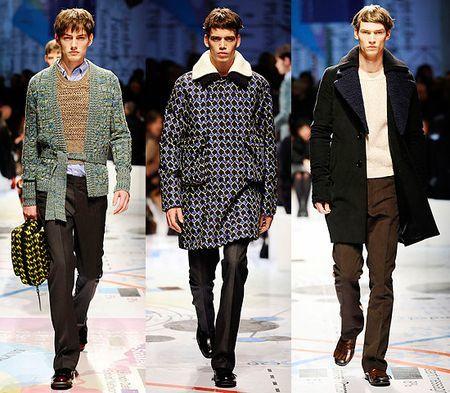 Prada, Otoño-Invierno 2010/2011 en la Semana de la Moda de Milán