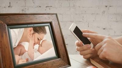 Pigeon es un marco digital inalámbrico pensado para personas mayores