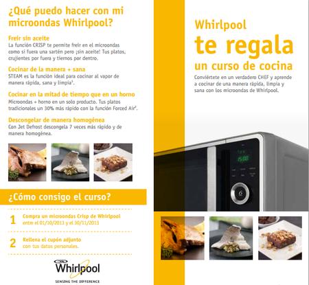 Los microondas de Whirlpool vienen con regalo