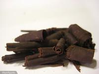 Cómo hacer virutas de chocolate
