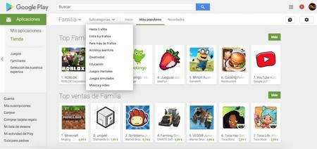 La sección Familia de Google Play en entredicho: más de 3.300 apps comparten datos de menores sin la supervisión de un adulto