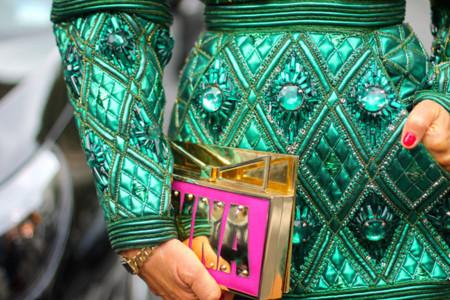 Sara Battaglia se ríe del clon que Zara ha hecho de uno de sus bolsos