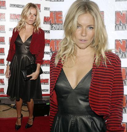 El look de Sienna Miller en los premios MNE