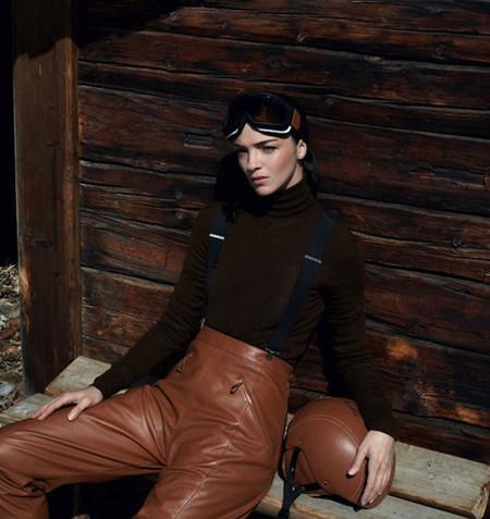 """La nueva línea """"Chic, le sport"""" de Hermès para los amantes del esquí"""