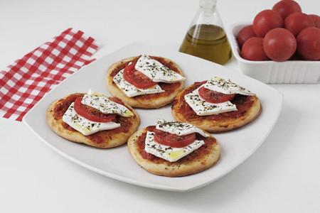 Mini pizzas picantes con Burgo de Arias Lingote