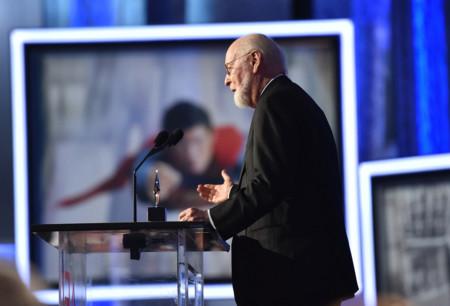 John Williams dando las gracias por el premio del AFI