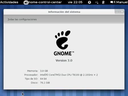 Probando Gnome Shell desde live CD