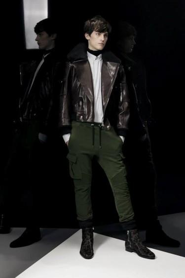 La estrella rock y el look militar se alzan como protagonistas de Balmain y su colección Otoño-Invierno 2014/2015
