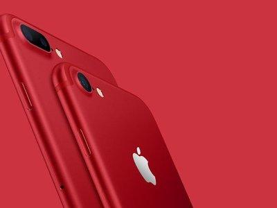 La edición especial (RED) del iPhone 7 es el gadget definitivo de la temporada