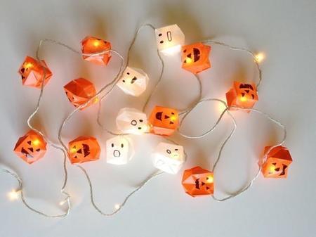 Hazlo tú mismo: guirnaldas de luces especiales para decorar en Halloween
