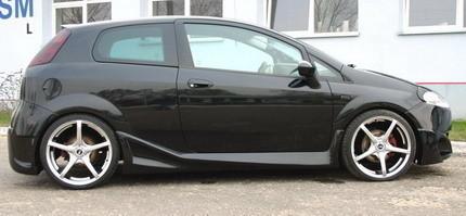 Fiat Grande punto preparado por Carzone Special