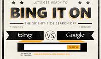 Bing it on, la nueva campaña de Microsoft en contra de Google