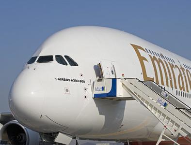 El primer vuelo regular del Airbus A380 aterrizará en América