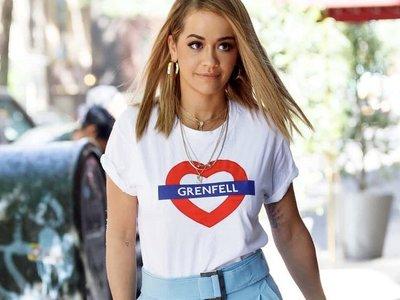 Love4Grenfell, la camiseta que se ha hecho viral tras el incendio de Londres y que ya lucen las celebrities