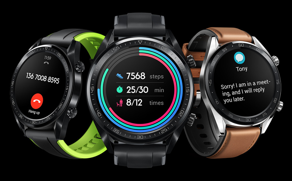 Huawei Watch GT away from Wear I and bet for their own system: this is what offers you its new watch