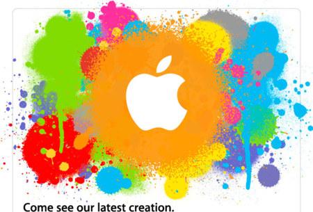 Invitación de la keynote del iPad original