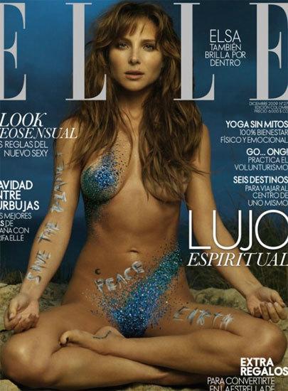 Elsa Pataky Se Desnuda En El Número Navideño De Elle Y La Lía Parda