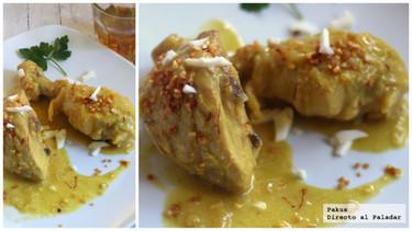 Cómo hacer pollo en pepitoria casero y tradicional. Receta