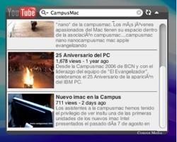 YouTube 1.0: Widget para consultar sus vídeos desde Dashboard