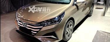 ¡Espiado! El facelift del Hyundai Accent se asoma desde China