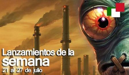 Lanzamientos de la semana en México del 21 al 27 de julio