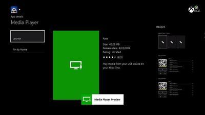 Xbox One estrena reproductor multimedia con una actualización de septiembre cargada de novedades