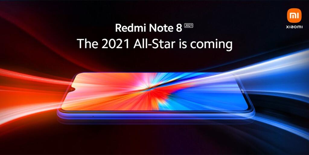 Redmi Note 8 2021: Xiaomi lanzará una versión especial del popular gama media